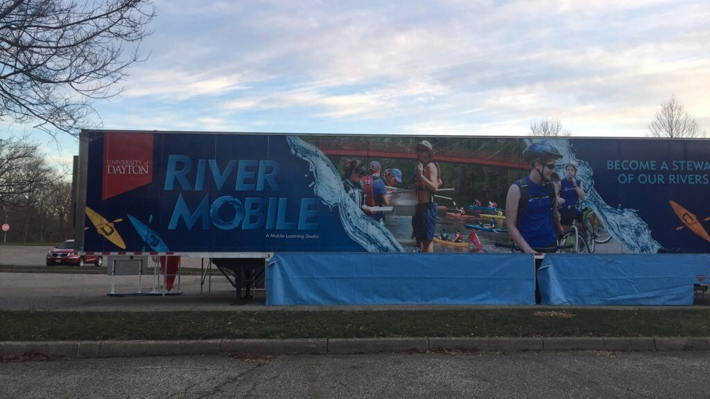 University of Dayton's Rivermobile Made an Appearance!